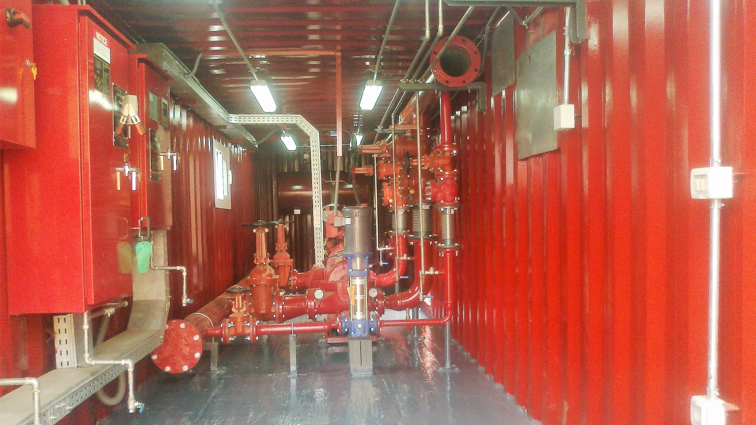 Containerized Fire Fighting Plant