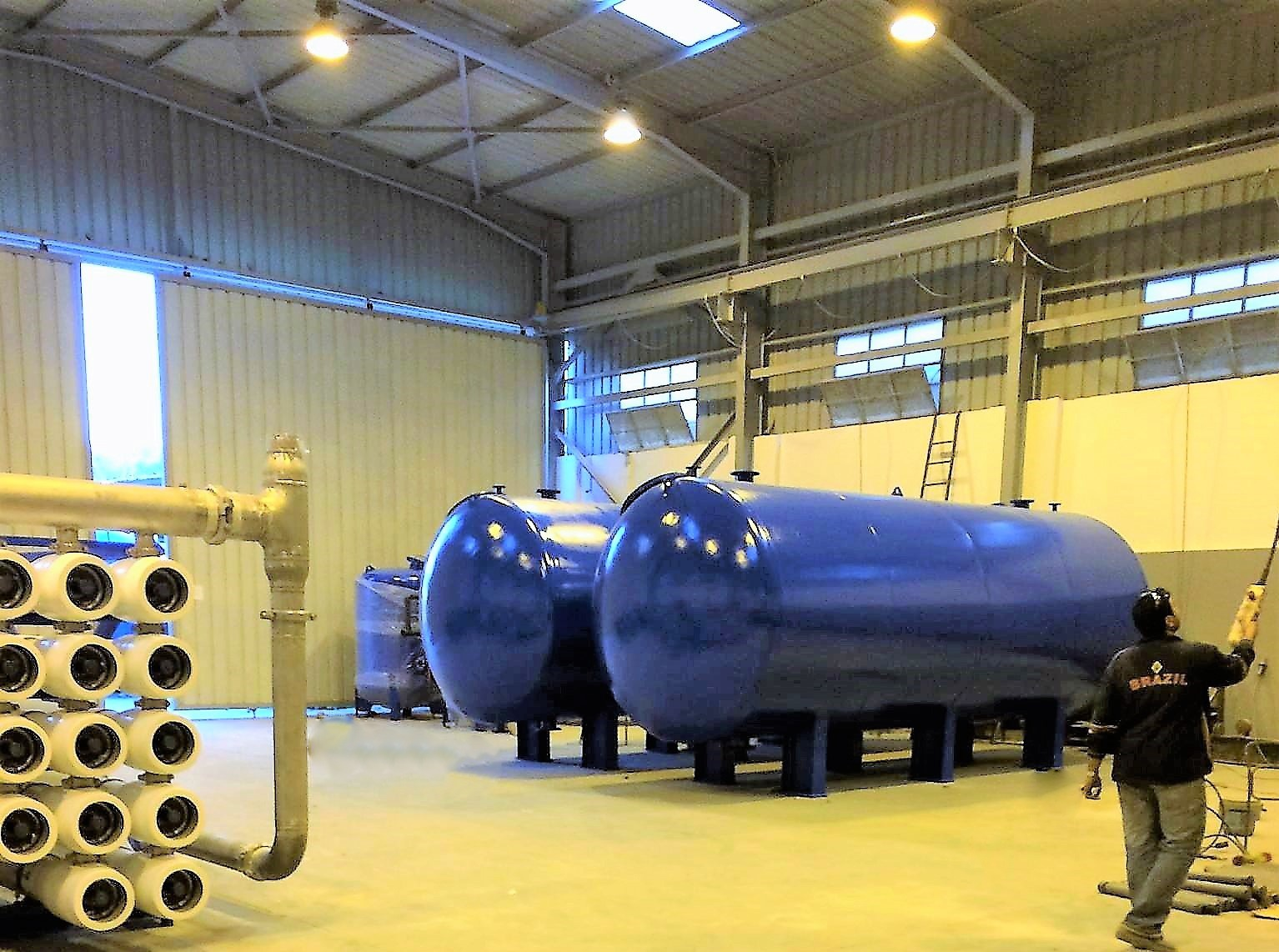 Storage Tanks , Pressure Vessels and Filters